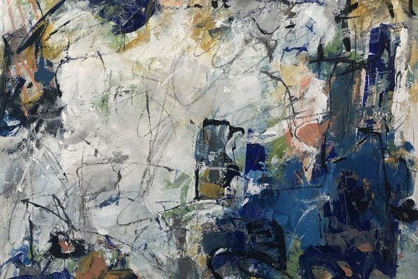 DON'T MISS A THING by LIZ HOSIER, Mixed Media $900