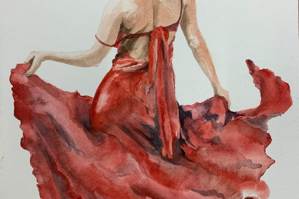 Sabine Baeckmann Watercolor $450