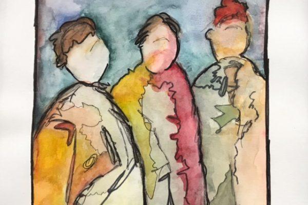 JANE CAPEN Watercolor12x12 $180